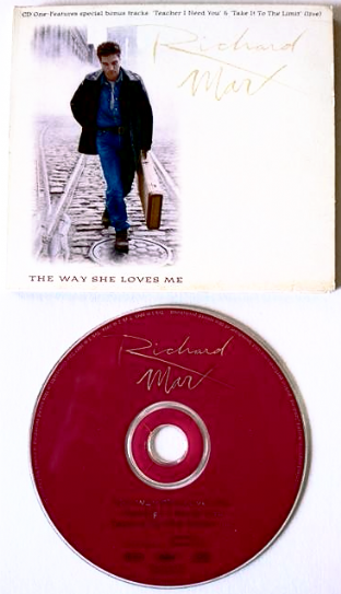 Richard Marx - The Way She Loves Me (CD Single Pt 1) (EX/VG-)